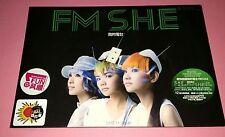 S.H.E. 女朋友 : FM S.H.E 我的电台 CD + DVD (2008)  (BRAND NEW 全新)  新加坡版
