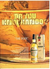 Publicité Advertising 1986 Scotch Whisky Knockando