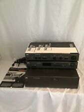 Vintage NAD STEREO AUDIOPHILE AMPLIFIER 2200 TUNER 4155 PREAMPLIFIER 1155