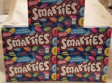 5 Boxes Nestle smarties candy covered chocolates Canadian canada ALWAYS FRESH