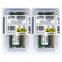 8GB KIT 2 x 4GB Toshiba Satellite L775-18F L775-190 L775D-01R Ram Memory