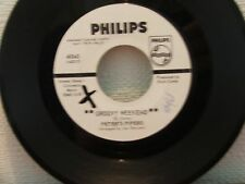 "7""vinyl(VERY RARE PROMO( record by PETERS PIPERS,""GROOVY WEEKEND) (K)"