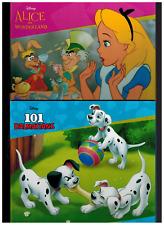 Disney - Lot of 2-101 Dalmatians & Alice in Wonderland  -  Childrens Hardback