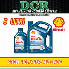ACEITE MOTOR SHELL HELIX HX7 AV 5W30 SINTÉTICO ACEA C3 5 LITROS 502.00 505.01