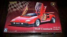 Lamborghini Wolf Countach Version 1 von Aoshima Art.3049600 neu/ovp