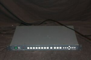 Kramer VP-724XL Presentation Switcher Scaler with power cord and remote