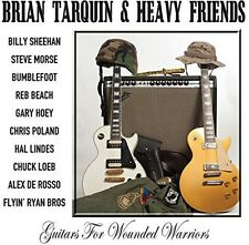 Guitars For Wounded Warriors - Brian / Heavy Friends Tarquin (2014, CD NIEUW)