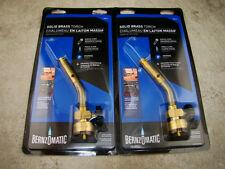 Set of 2 - Torch Tips for Mini Propane Gold Melting Furnace Bernzomatic UL2317