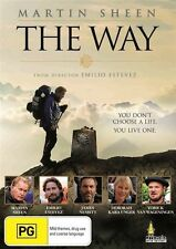 THE WAY DVD ( MARTIN SHEEN ) REGION 4 NEW AND SEALED
