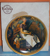 """""""Dreaming in the Attic"""" Collector Plate by Norman Rockwell"""