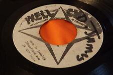 Rare Well Charge Reggae Blank 45: Matrix # 1814 / 1815 Jamaica