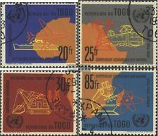 Togo 325-328 (kompl.Ausg.) gestempelt 1961 Kommission der UNO