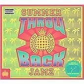 Throwback Summer Jamz (2016) The Ministry Of Sound (New Release) 3 CD Set