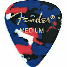 Fender 351 Classic Celluloid 144 Confetti Guitar Picks - 1 Gross Medium