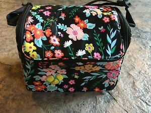 Vera Bradley TANGERINE TWIST Stay Cooler Lunch Bag Camera Bag Authentic NWT NEW