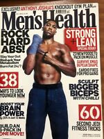 Men's Health Magazine -Anthony Joshua Cover exclusive Knockout gym plan.Boxing.