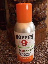 HOPPE'S NO. 9, GUN MEDIC, QUICK FIX, Cleaner & Lube Net Wt. 4 oz. Can Formula