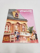 Vintage 1990 Playmobil Victorian Consumer Catalog Germany HTF