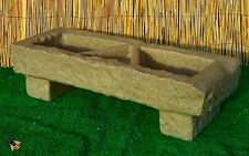 Garden Trough Planter Flower Pot Patio Tub Sandstone Colour New