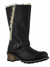 Caterpillar Mid-Calf Pull on 100% Leather Women's Boots
