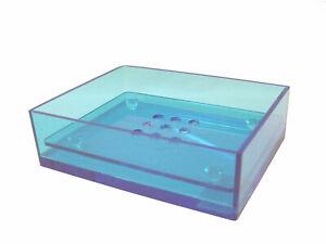 (27303) Soap Bath Acrylic Square Blue