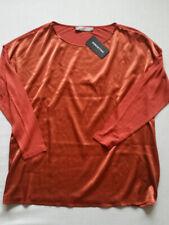 HALLHUBER DONNA Shirt Satin oversized koralle Gr.42/44--UK14/16**NEU