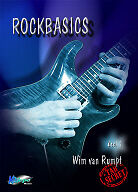 Rockbasics 1  - Wim van Rumpt (Dutch edition)  Methode voor rockgitaar / lesboek
