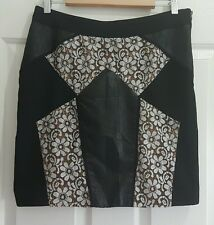 Ladies size 12-14 flowery silky evening skirt - Wish