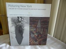 1117A vtg book Picturing New York Jacquette / Burckhardt / Bill Berkson / V Katz