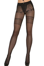 Sexy Calze rete Ricamo Reggicalze trasparenti nudo stampa Sexy Sheer Pantyhose