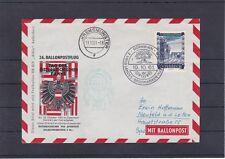 26. Ballonpostflug mit Sonderstempel gelaufen 1961 ANSEHEN