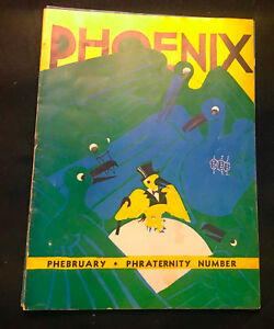 Vintage University Chicago Humor Magazine Phoenix Phebruary 1935 Nik Krevitsky