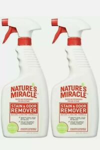 Nature's Miracle Stain and Odor Remover (32oz Spray- 2 Pack)