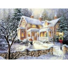 Christmas Gifts Full Drill DIY 5D Diamond Painting Kits Embroidery Decors Snow