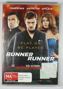 Runner Runner DVD FREE POST