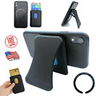 TECKULA Magnetic Cell Phone Wallet, Card Holder & Stand for Android and iPhone