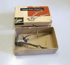 Vintage John Oster Model 105 #000 Hand Hair Clipper in Box - CORDLESS