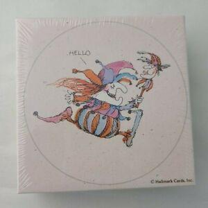 Vintage Hallmark Mini Springbok Puzzle Jester to say Hello