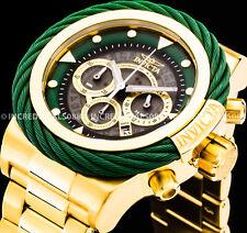 Invicta Men's Bolt Chronograph Green Grey 18Kt Gold Alloy Nautical Sport Watch