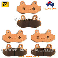FRONT REAR Sintered Brake Pads for HYOSUNG GT 250 R (Carbs) 2005 2006 2007