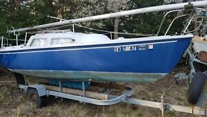 1982 Catalina 22' Sailboat & Trailer - North Carolina