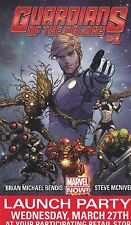 MARVEL COMICS GUARDIANS OF THE GALAXY 2013 MARVEL LAUNCH PARTY PROMO CARD