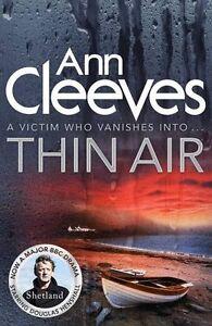 Thin Air (Shetland) By Ann Cleeves