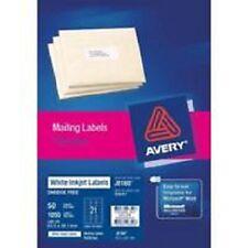 Avery Inkjet Labels J8160 21up 63.5x38.1mm Pkt 25 - AD936032