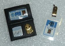 Barbie / Ken  Agent Fox Mulder FBI Badge & ID Tag Newly De-boxed ~ Free U.S Ship