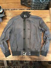 Ralph Lauren Polo Men's Spring or Fall Bomber Jacket - Gray Medium