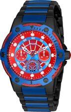 Invicta 26981 Marvel Women's Day-Date 24H 39mm Black/Blue/Red Spiderman Watch