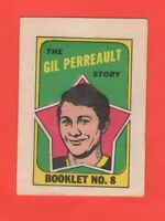 1971-72 O-Pee-Chee OPC  # 8  Gil Perreault  exit
