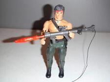 "Rambo Vintage 1985 The Force of Freedom Rambo 7"" Figure w Rocket Launcher"