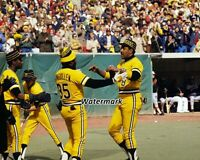 MLB 1979 Pittsburgh Pirates Willie Stargell Manny Sanguille 8 X 10 Photo Picture